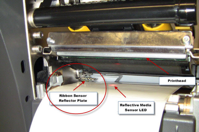 ZT200 Series -- Loading the Ribbon and Resolving Ribbon
